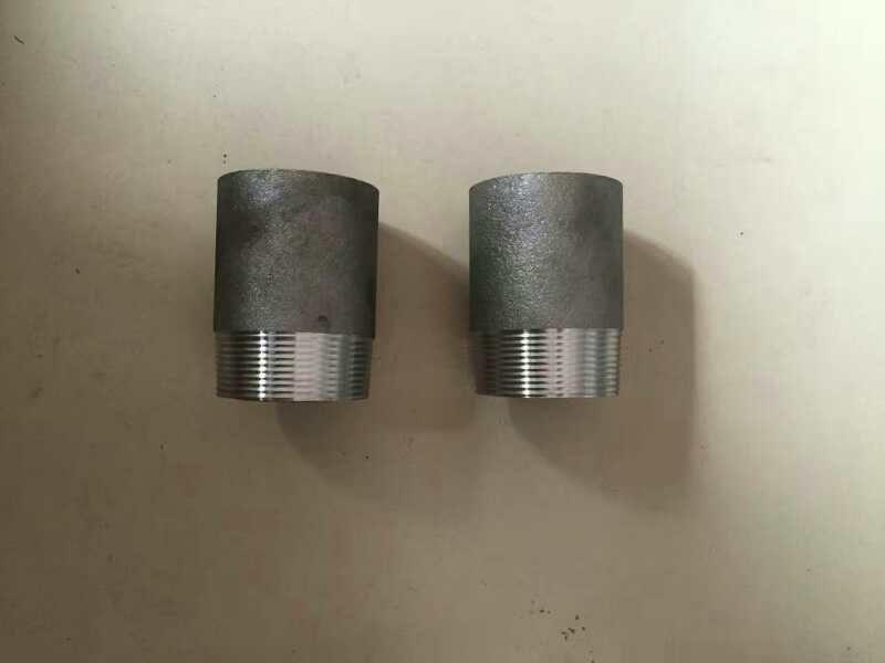 原厂供应各种型号碳钢无缝管箍  单丝头 双丝头