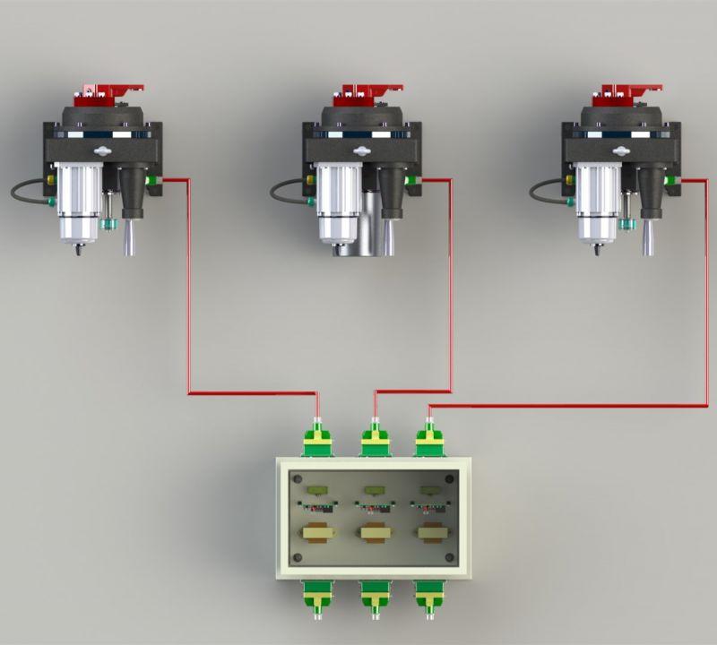 二次风门执行器改造FTK-G分体电动执行器