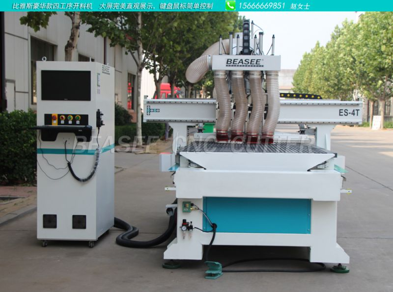 温州市四工序数控开料机 全自动木工下料机