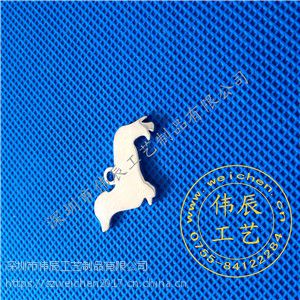 蝴蝶吊坠定制/小徽章制作/五金拉链logo制作/广东拉链logo定制厂