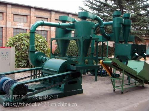 郑州郑科500型玉米芯粉机组机型结构