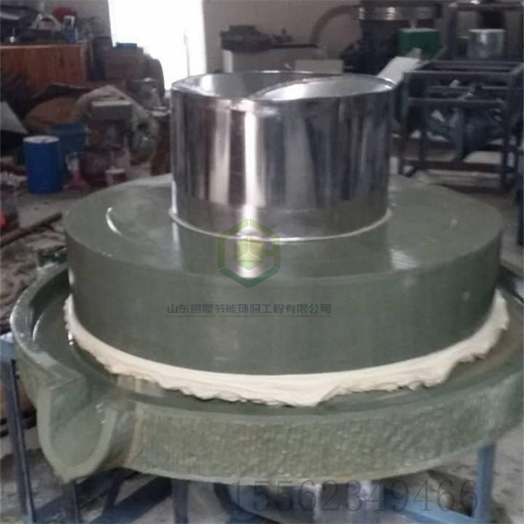 精英电动小石磨 多用途面粉、豆浆、香油、肠粉石磨机 邦腾供应