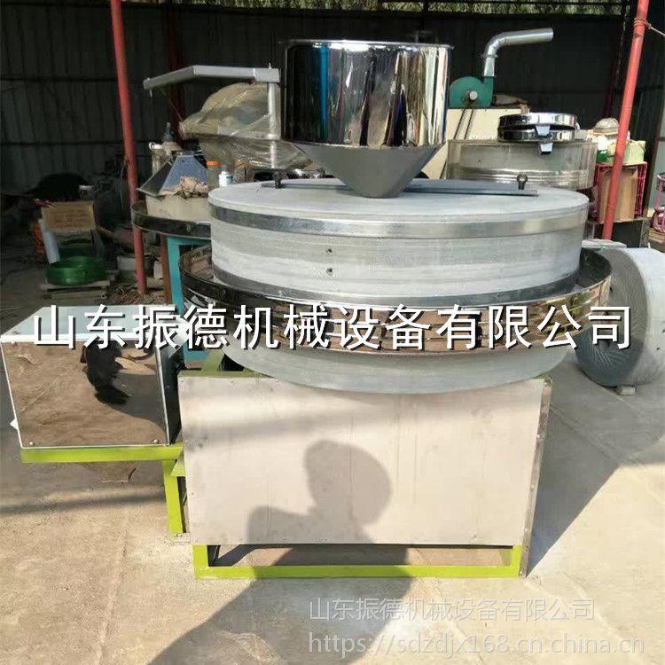 振德牌 ZD-80型面粉加工石磨机 多功能石磨面粉机 小麦杂粮面粉机 热销