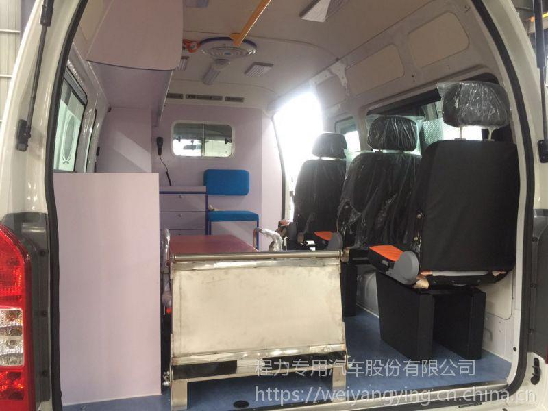 山西运城医院用柴油救护车价格