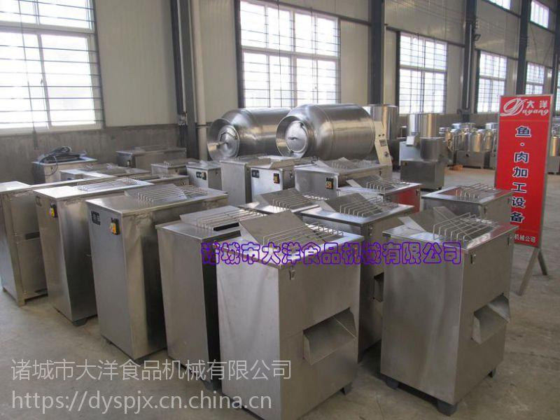 肉切片机,小型切肉丝机,--大洋专业制造