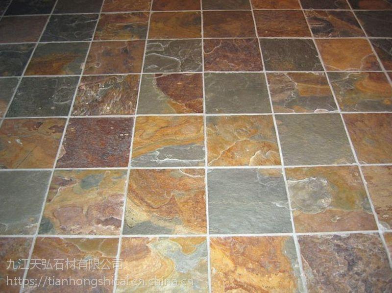 江西天弘石材厂常年出售 黑色板岩 汀步石 蘑菇石 瓦板石 板岩锈板 流水石 网贴石等多种石材