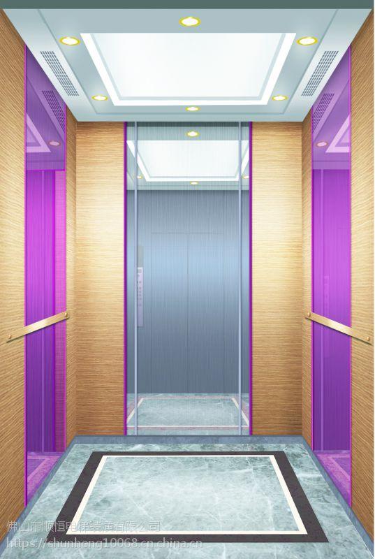 广东-顺恒酒店电梯装潢