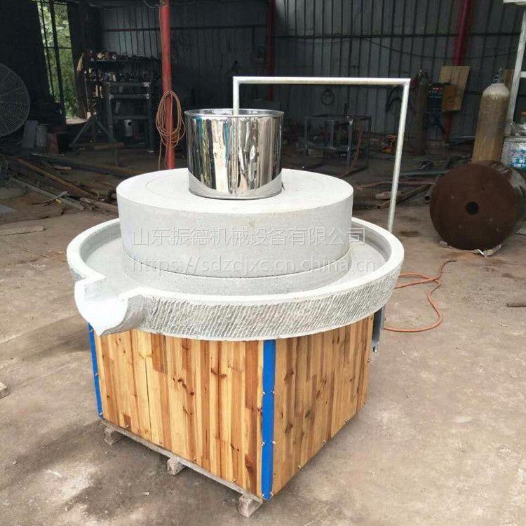 振德机械生产 豆制品加工豆浆机 麻汁香油石磨机 花生酱磨