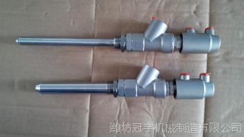 厂家直销新型不锈钢 DN15-27立式14mm粗灌装嘴灌装阀