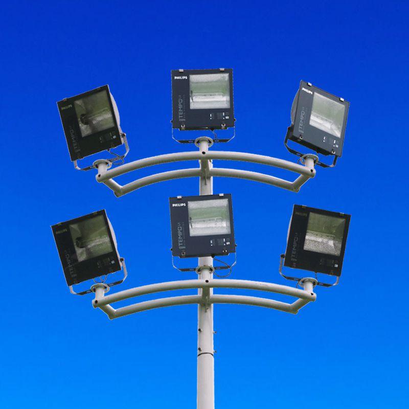 肇庆路灯杆报价生产厂家6m/12/8米7米10米单臂路灯灯杆挑臂led太阳能