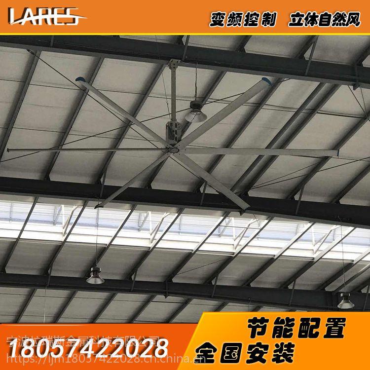 徐州工业大吊扇大型工业风扇大功率电风扇7.2米节能强力风扇拉瑞斯