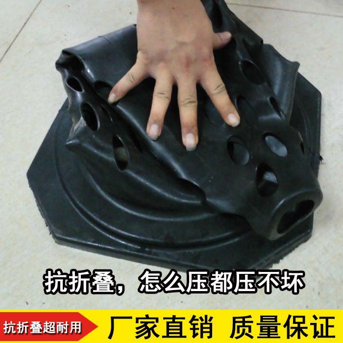 橡胶路锥反光锥雪糕桶禁止停车路障柱交通设施道路警示锥形雪糕筒