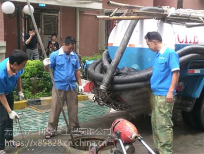 江阴市华士镇排污管道清洗 管道检测