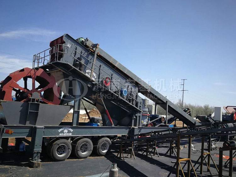 投资移动式建筑垃圾处理设备在安徽阜阳多久能回本儿