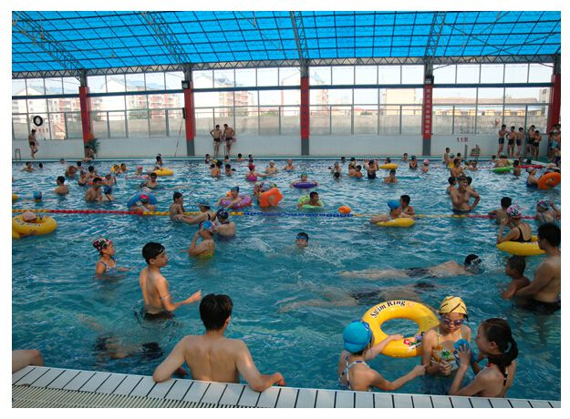 焦作市 生物化学水处理设备 碧源by-56泳池过滤沙钢