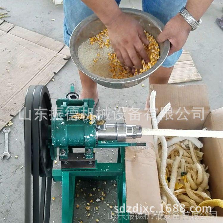 麻花膨化机 多花样玉米棍机 爆米花膨化机 振德牌