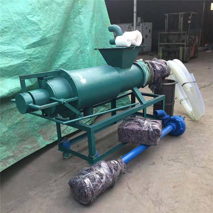 猪粪脱水处理机 螺杆式挤压干湿分离机 有机肥料固液分离机
