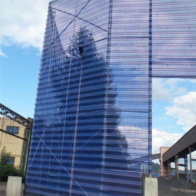 防风抑尘网 三峰型防风抑尘网价格 储煤场挡尘墙