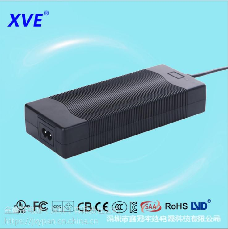 供应25.2V4A园林电动工具充电器 XVE深圳定制充电器厂商 免费拿样