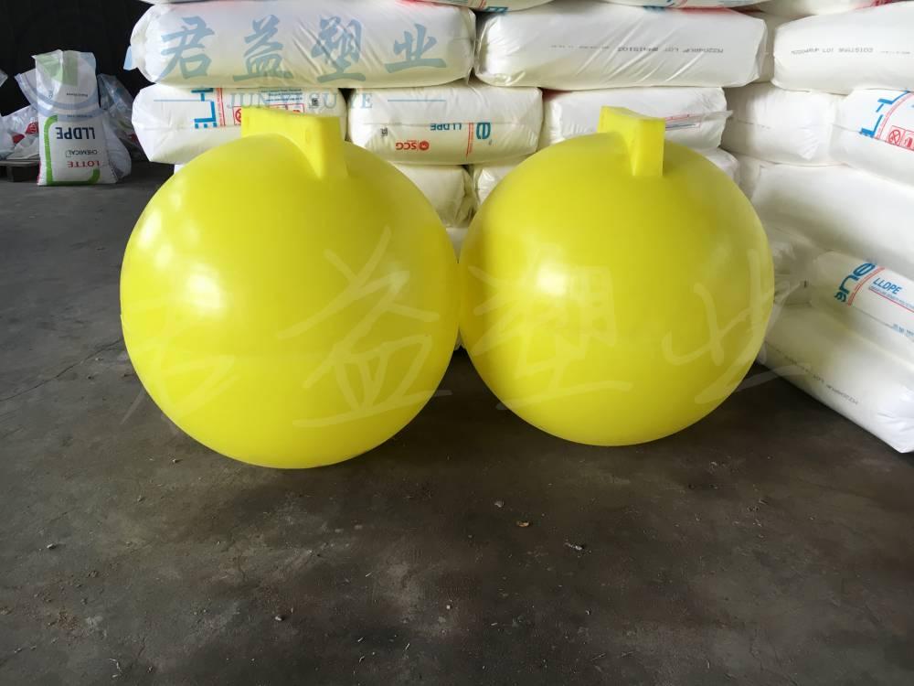 航道指示浮标浮球 直径600mm塑料锦航标浮球