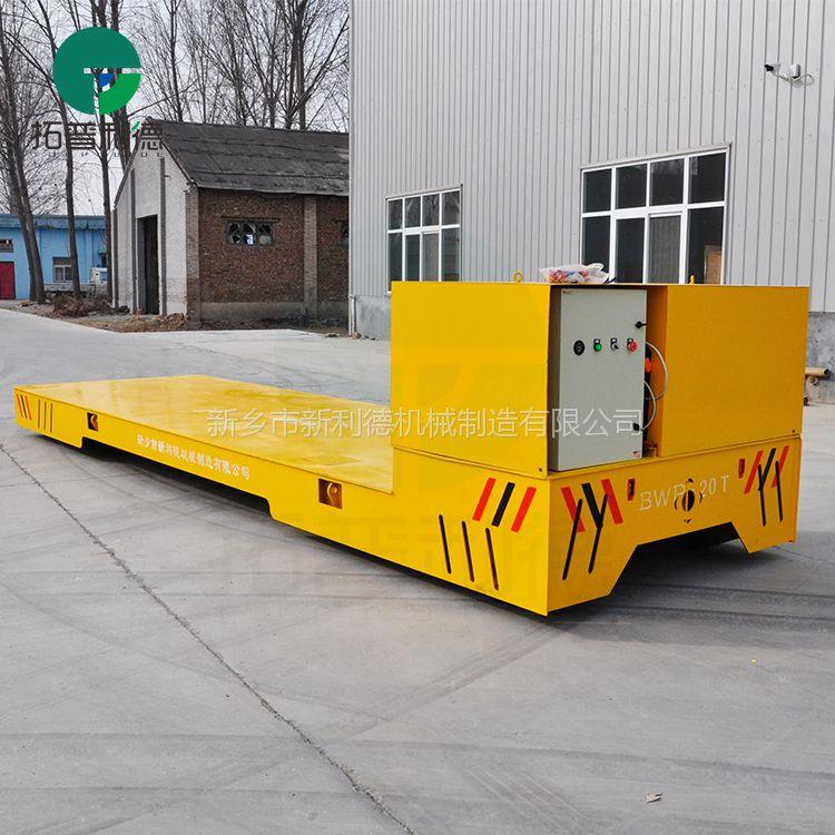 现货电动胶轮平板车工具车运输管材