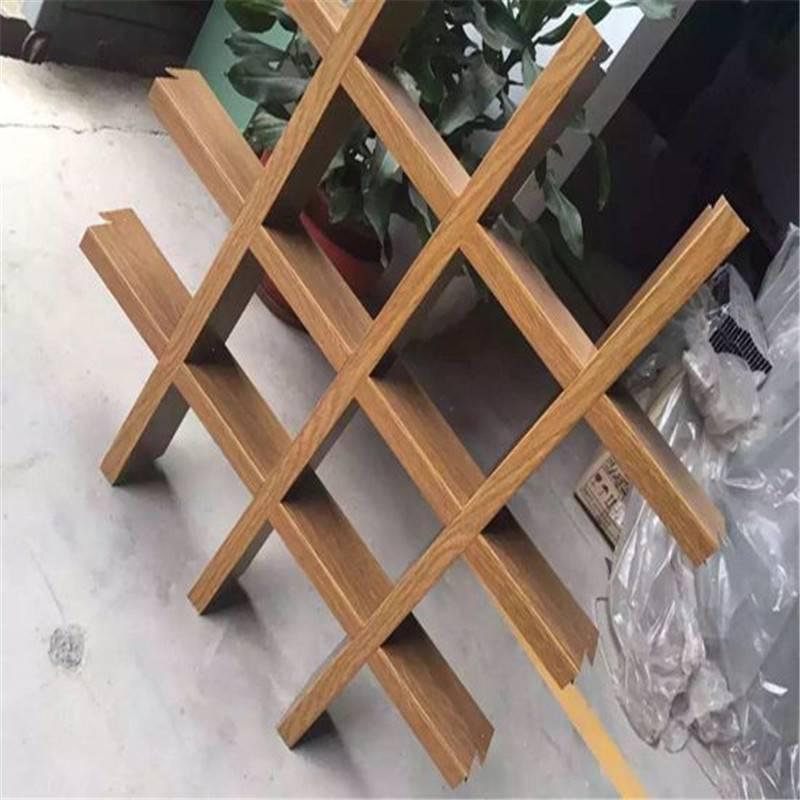广州德普龙粉末静电喷涂铝格栅结构精巧厂家销售