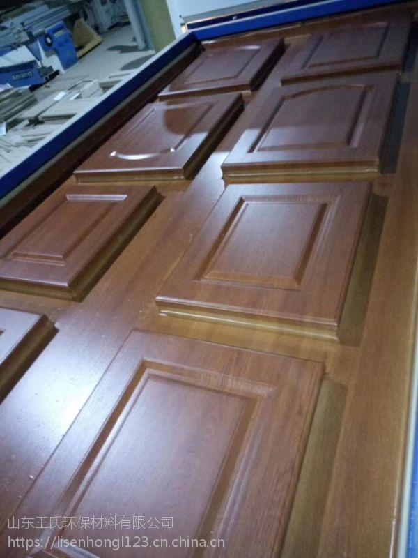 山东软包门吸塑机 橱柜门板覆膜机