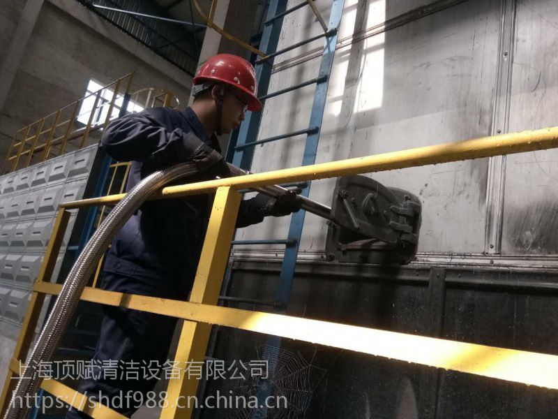 威德尔HT110/55耐高温5.5KW工业吸尘器 适用于大型钢化玻璃车间