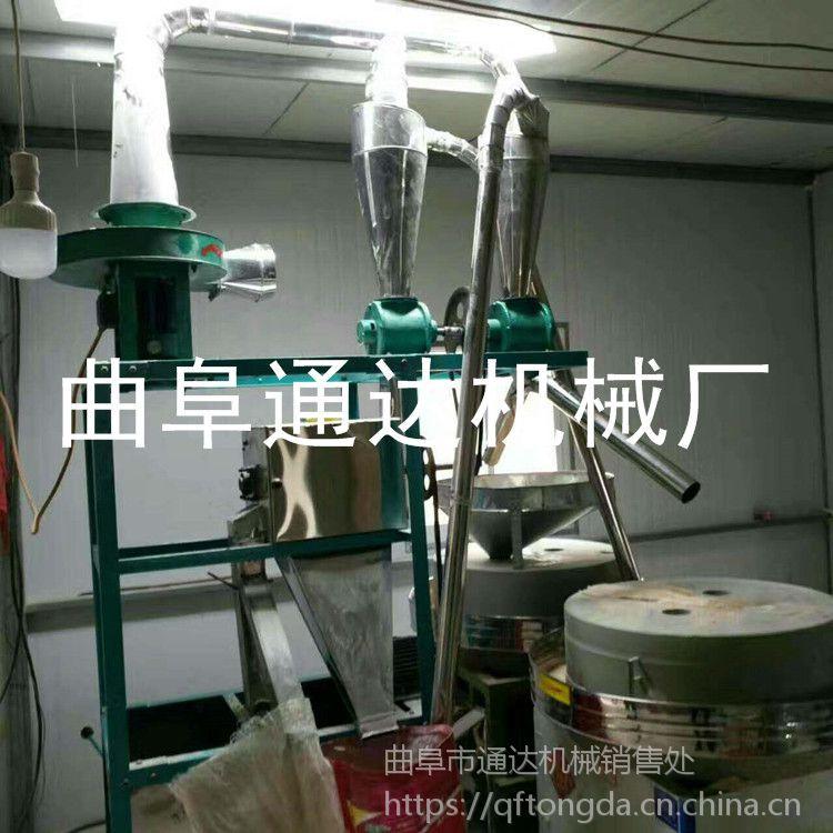 通达牌磨坊专用面粉石磨机 电动玉米面石磨 南京 新款五谷杂粮磨面机