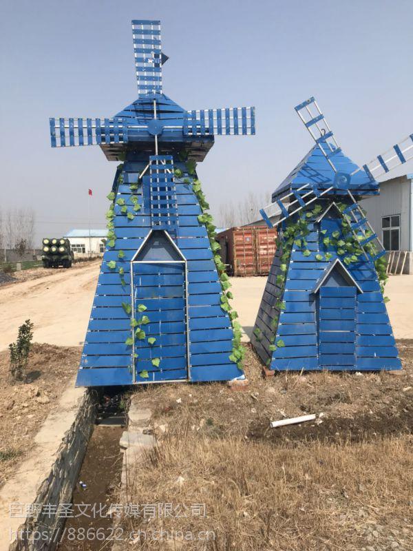 春季高端木质铁艺风车绿植迷宫昆虫展恐龙展道具出租出售
