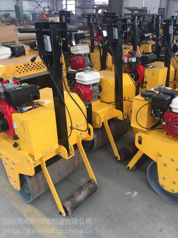 磐石地区修路用 克勒斯5吨单钢轮压路机 为美好的中国献上我们的力量