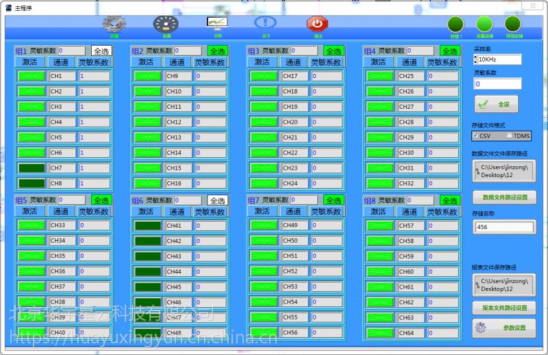 基于NI产品的DAQ测试软件