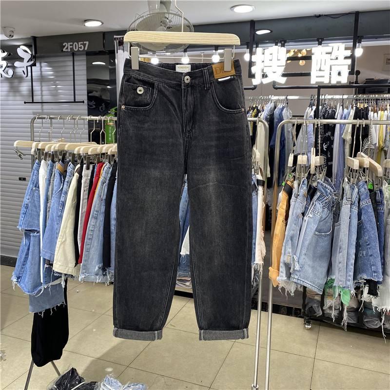 便宜库存杂款尾货高腰牛仔裤清仓几块钱女士裤子弹力牛仔裤批发低价清