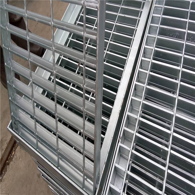 楼梯踏步板加工 成品踏步板 电厂钢格板