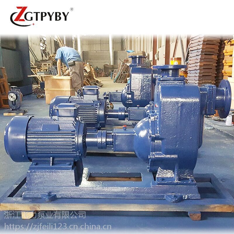 50ZW20-15自吸式无堵塞排污泵 不锈钢铸铁自吸泵 订做无堵塞自吸泵