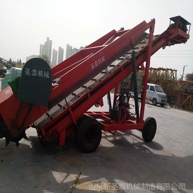 移动式青储取料机 取料高度可达7米的取料机