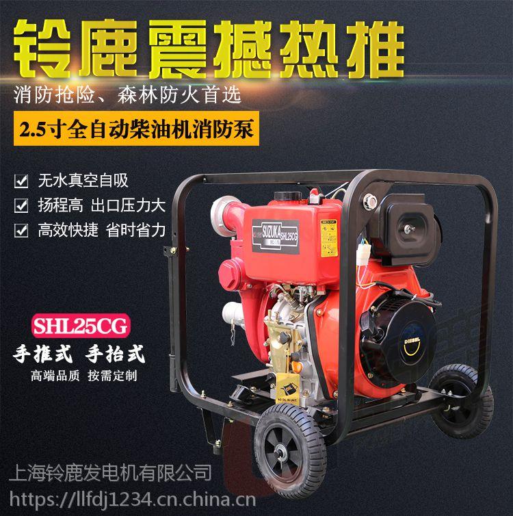 四川全自动2.5寸柴油机消防泵
