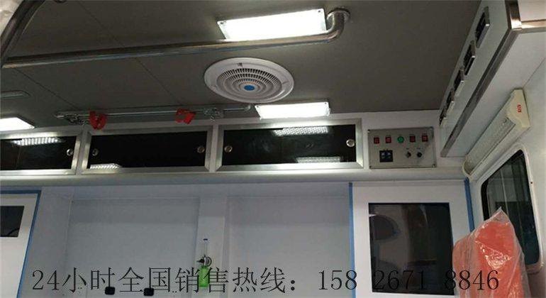 黑龙江省国五医疗救护车改装厂家
