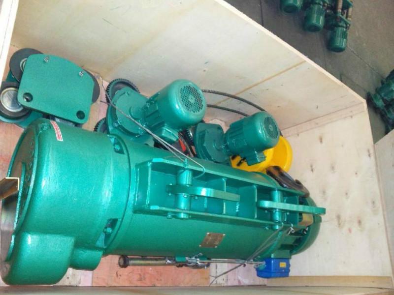 10吨9米12米单速电动葫芦价格参数结构图图片