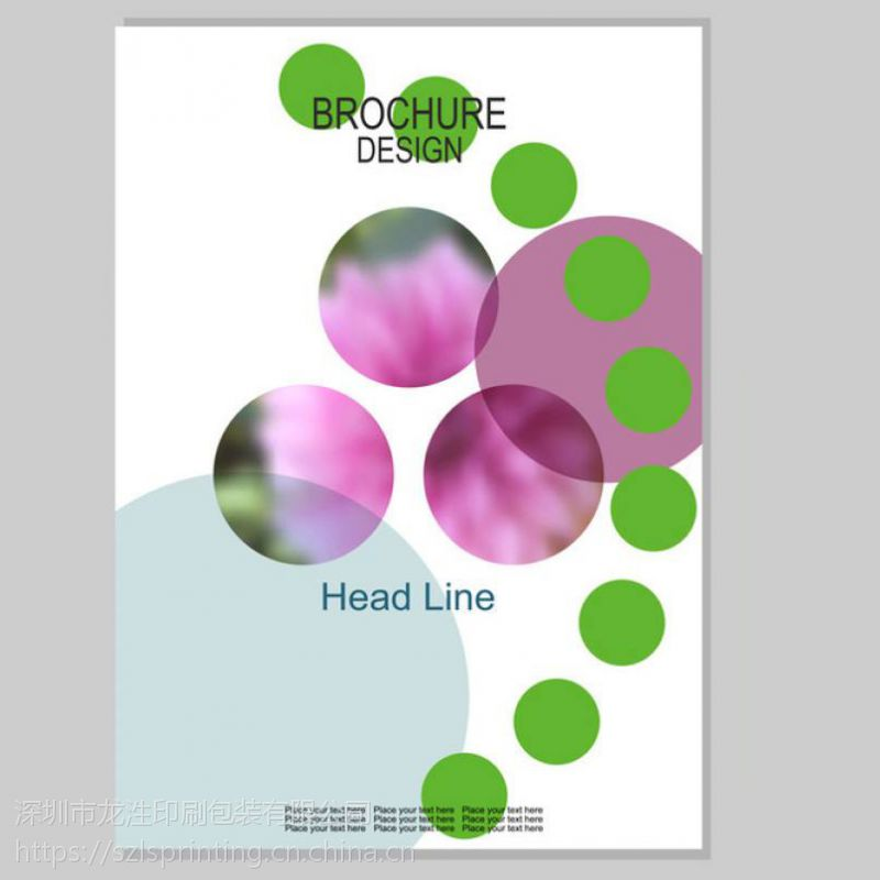 深圳宣传册设计 彩色画册印刷设计 16开画册印刷 工艺精美
