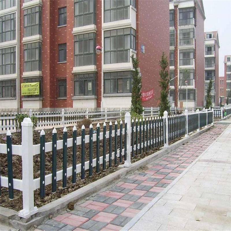 美好乡村建设护栏 新农村建设草坪护栏 学校草坪塑钢围栏