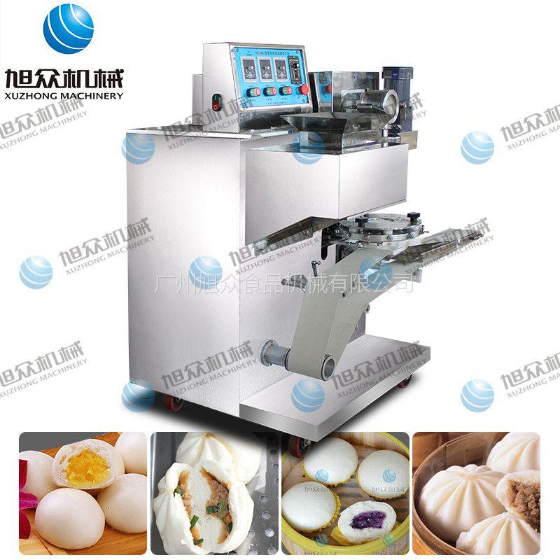 做清明粿的机器供应旭众牌多功能自动包馅机 做雪媚娘的机器