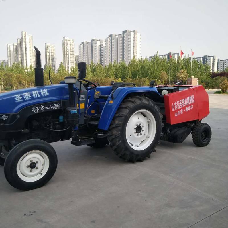 新款悬挂式稻麦玉米秸秆捡拾打捆机 自走式牧草打捆机