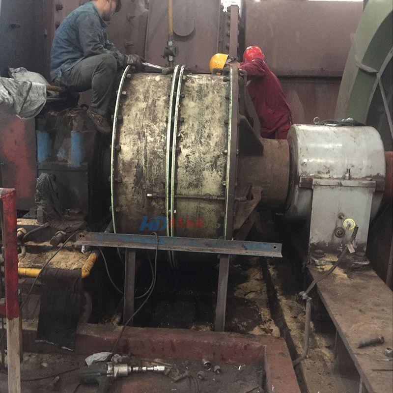 磨机离合器气动离合器38VC1200气囊闸瓦配件等