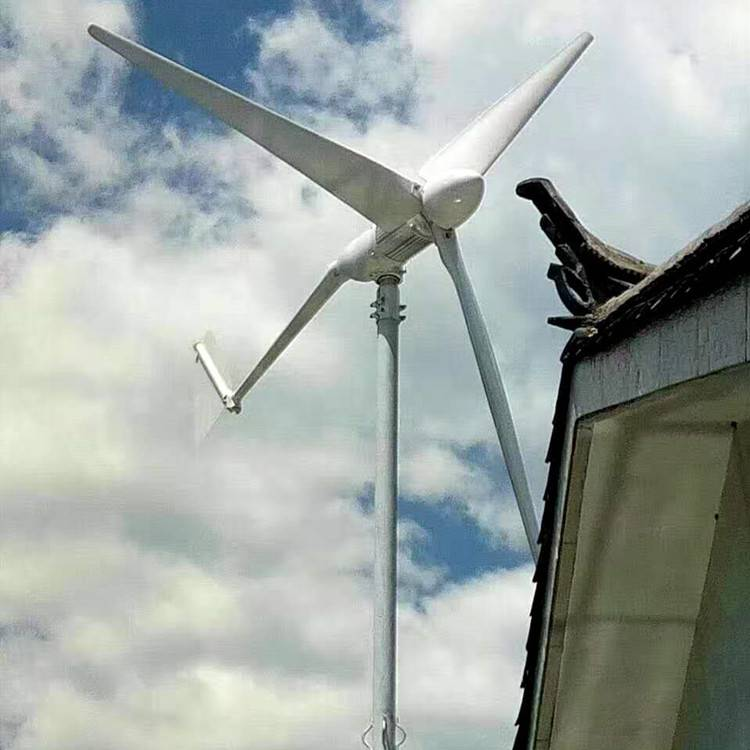 哈尔滨地区专用1000W晟成风力发电机 美观实惠 发电量高