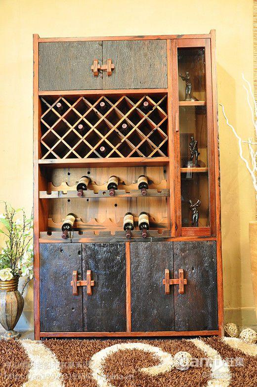 老船木茶水柜茶几实木床头柜餐边柜边几小柜子带抽储物柜厂家直销
