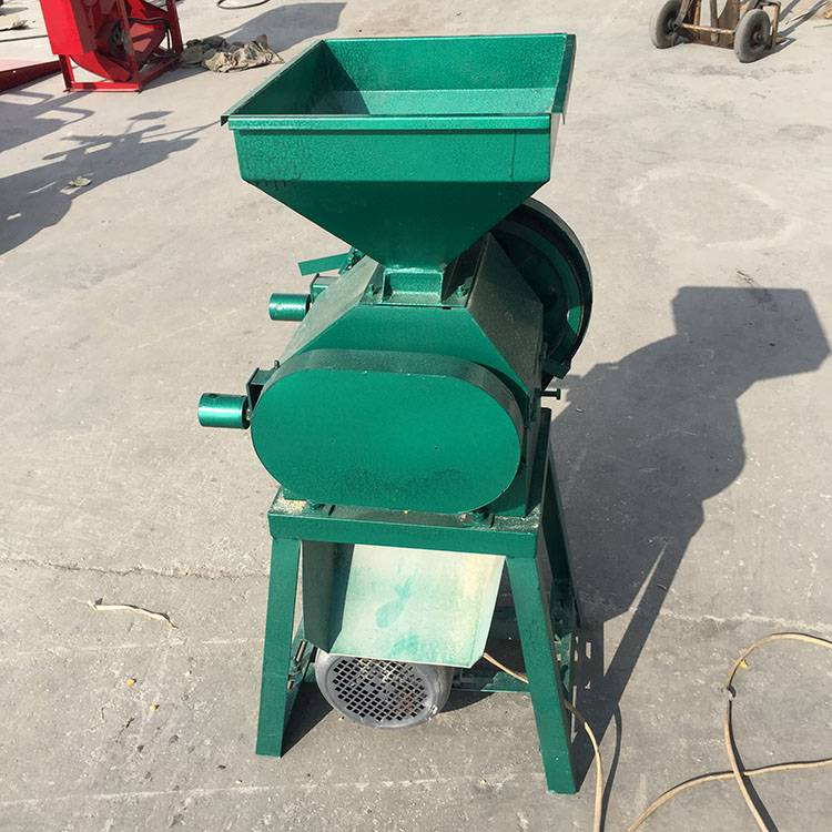 乐民厂家直销 小麦杂粮挤扁机 小型电动麦片机 五谷杂粮轧扁机