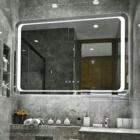 广东佛山厂家定制 智能镜子触摸 智能镜子led 浴室镜子
