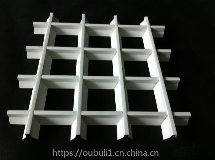 广东德普龙聚酯漆喷涂铝格栅定制安装简单厂家直销