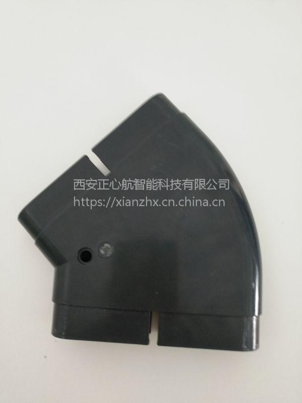 新风系统ABS材质扁管平接头/爬墙接头
